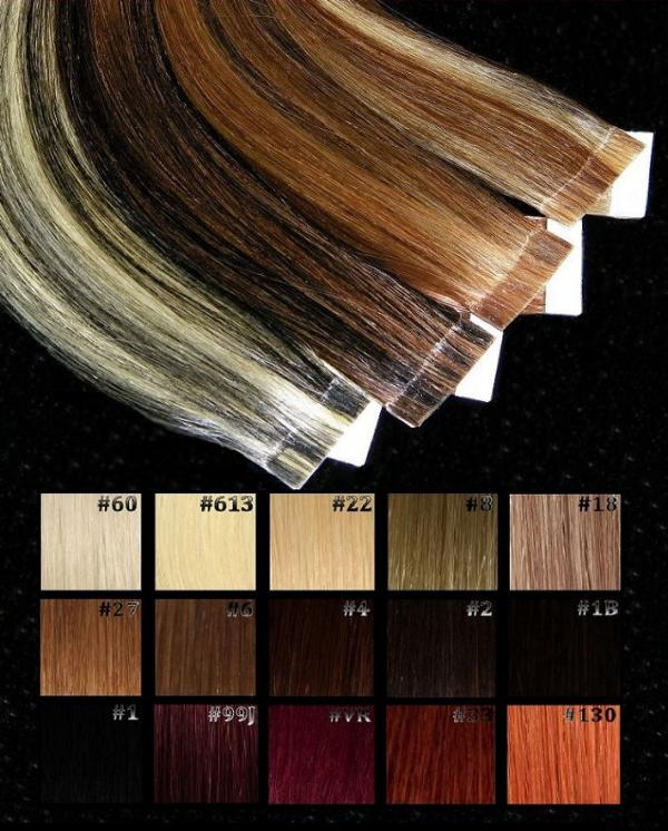 Balayage Tape Extensions 10 Stk in 50cm