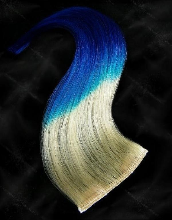Dip Dyed Hair Clip-in-Extensions 40x10