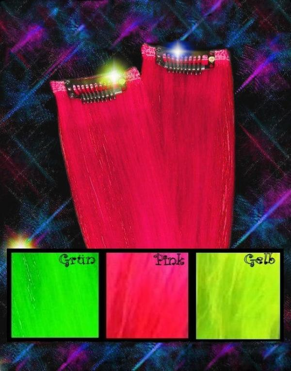 Neon Crazy Color Clip-in-Extensions 50x04