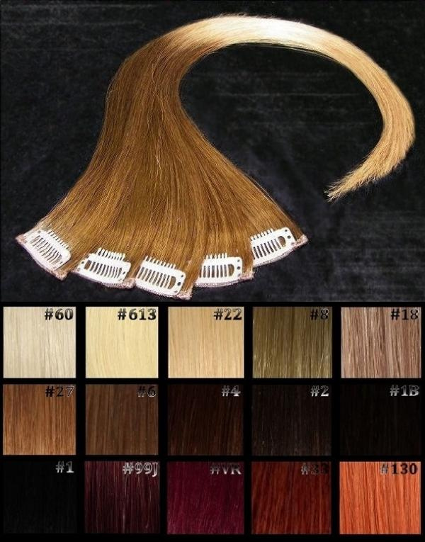 Ombré Hair Clip-in-Extension 60x04