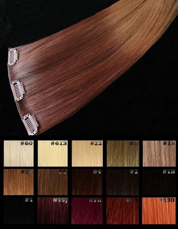 Ombré Hair Clip-in-Extension 60x15