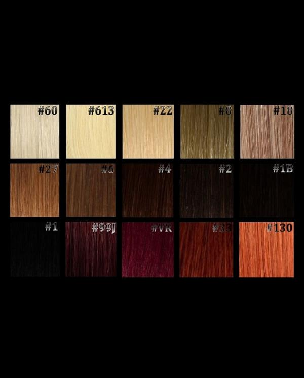 Tape Extensions Natur Nuancen 10 Stk in 60cm